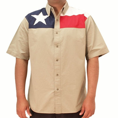 Mens Texas Flag Apparel