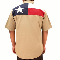 Texas Flag Button Down Shirt - The Flag Shirt