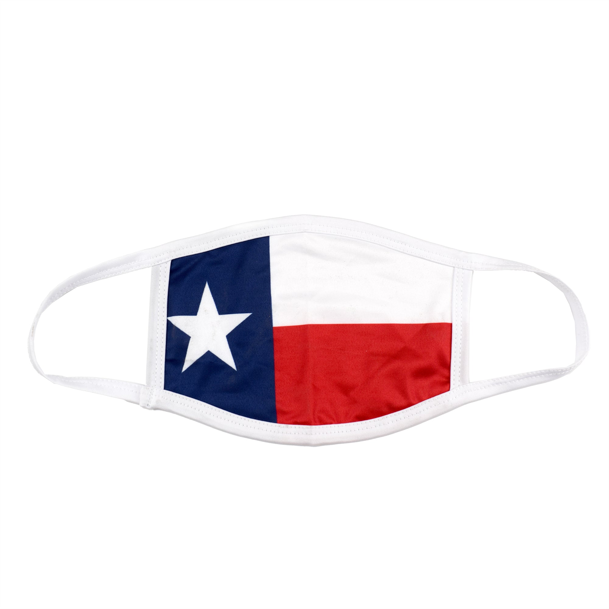 Cloth Face Covering with Texas Flag - the flag shirt