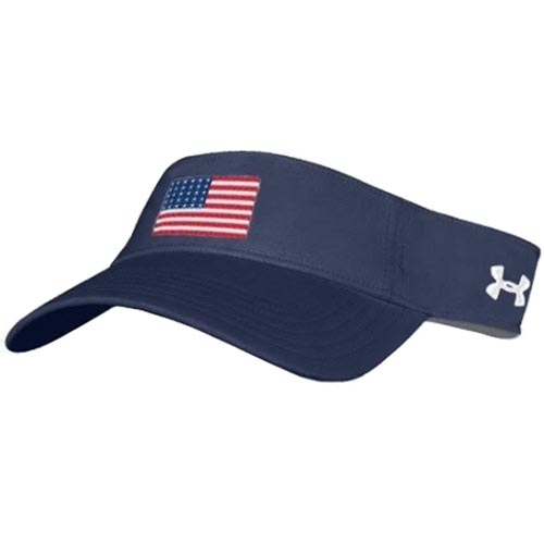 American Flag Under Armour Renegade Visor  435c59a98b4