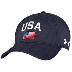 Under Armour USA Performance Cap Navy - The Flag Shirt