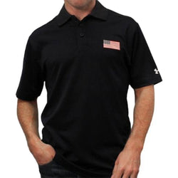 Under Armour American Flag Performance Polo - theflagshirt