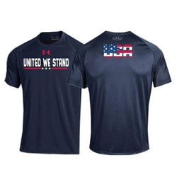 "Under Armour ""United We Stand"" USA Performance T-Shirt - The Flag Shirt"