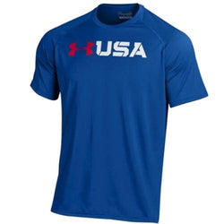 USA Under Armour Royal T-Shirt - The Flag Shirt