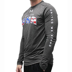 USA Flag Under Armour Tech Tee - The Flag Shirt
