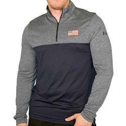 Mens Under Armour Patriotic Fleece 1/4 Zip