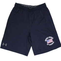 Under Armour USA Flag Shorts - Navy