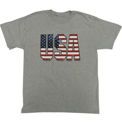 Patriotic USA Mens T-Shirt - The Flag Shirt