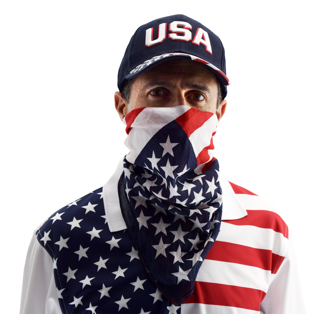 usa flag bandana - the flag shirt