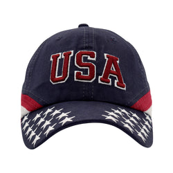 USA Flag Hat - Navy