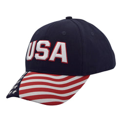 Cotton Twill USA Flag Cap
