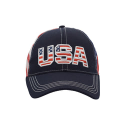 USA Cotton Twill Mesh Cap - The Flag Shirt