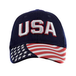 USA Waving Flag Cap