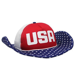 American USA Flag Bucker Hat - The Flag Shirt