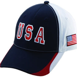 USA41-Hat-Navy - The Flag Shirt
