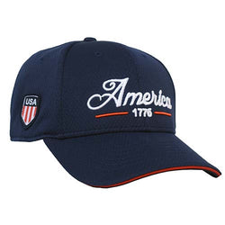 Mens America 1776 Embroidery Hat