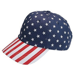 American Flag Print Hat - The Flag Shirt