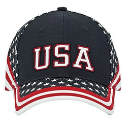 Stars and Stripes Bill Cap - The Flag Shirt