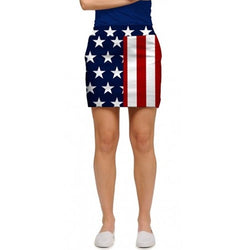 Stars and Stripes Womens Skort - The Flag Shirt