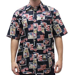 Legendary Places of America Button Down Shirt - The Flag Shirt