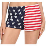 Ladies' Stars and Stripes Shorts