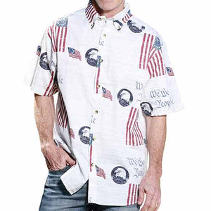 We The People Woven Shirt - The Flag Shirt