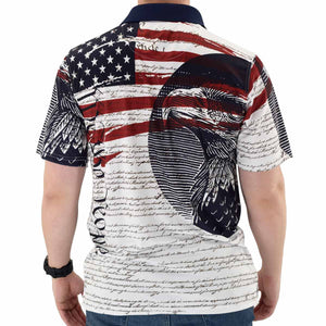 We The People Mens Tech Polo Shirt