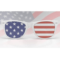 Wayfarer American Flag Sunglasses - The Flag Shirt