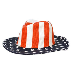 American Flag Cowboy Hat YD023-BB - The Flag Shirt