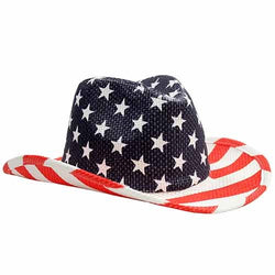 American Flag Cowboy Hat - The Flag Shirt