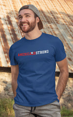 Load image into Gallery viewer, America Strong Flag T-Shirt