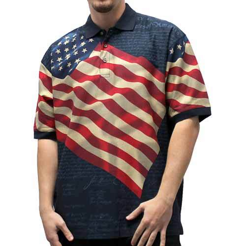 Benji-Navy-BT - The Flag Shirt