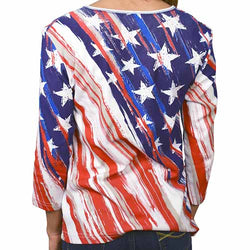 Diagonal Stars and Stripes T-Shirt