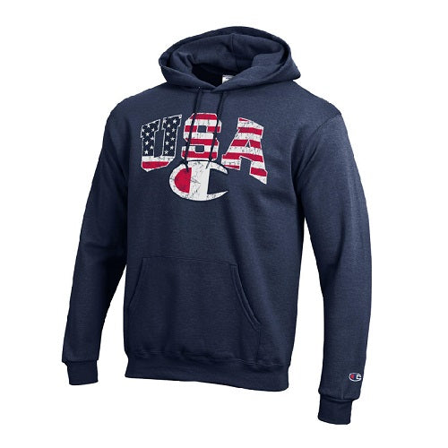 Champion Mens USA Flag Hoodie - The Flag Shirt