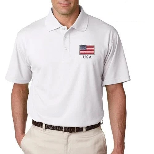 Men's Greg Norman Performance Polo