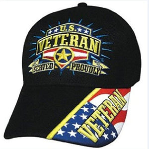 US Veteran Served Proudly Hat - The Flag Shirt