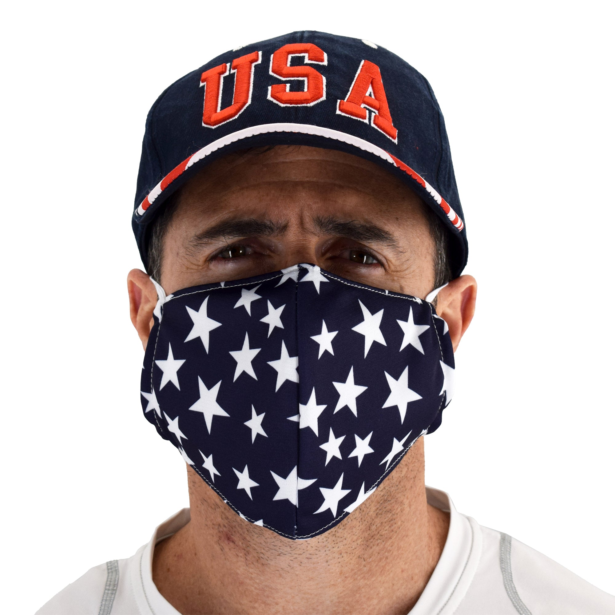 stars face covering - the flag shirt