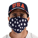 Load image into Gallery viewer, stars face covering - the flag shirt