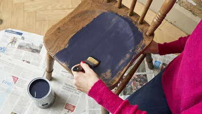 How To Upcycle A Wooden Chair With Chalk Paint - February 2020
