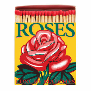 Red Rose Safety Matches - Lisa Comfort Home