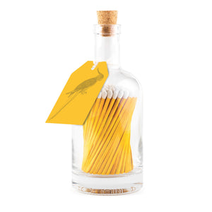 Matchstick Bottle - Sunshine Yellow Parrot - Lisa Comfort Home