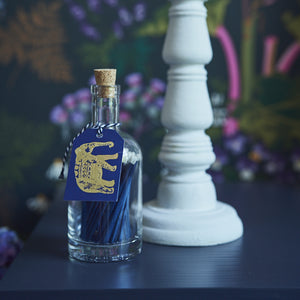 Shop for Matchstick Bottle - Navy Elephant at Lisa Comfort Home
