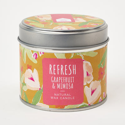 Shop for Refresh Candle Tin at Lisa Comfort Home