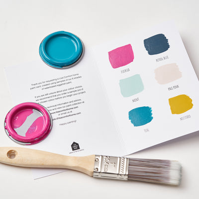 Shop for Free Paint Sample Card at Lisa Comfort Home