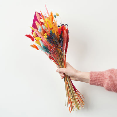Colourful Dried Bouquet Medium - Lisa Comfort Home