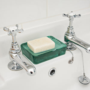 Shop for Wells Glass Soap Dish at Lisa Comfort Home