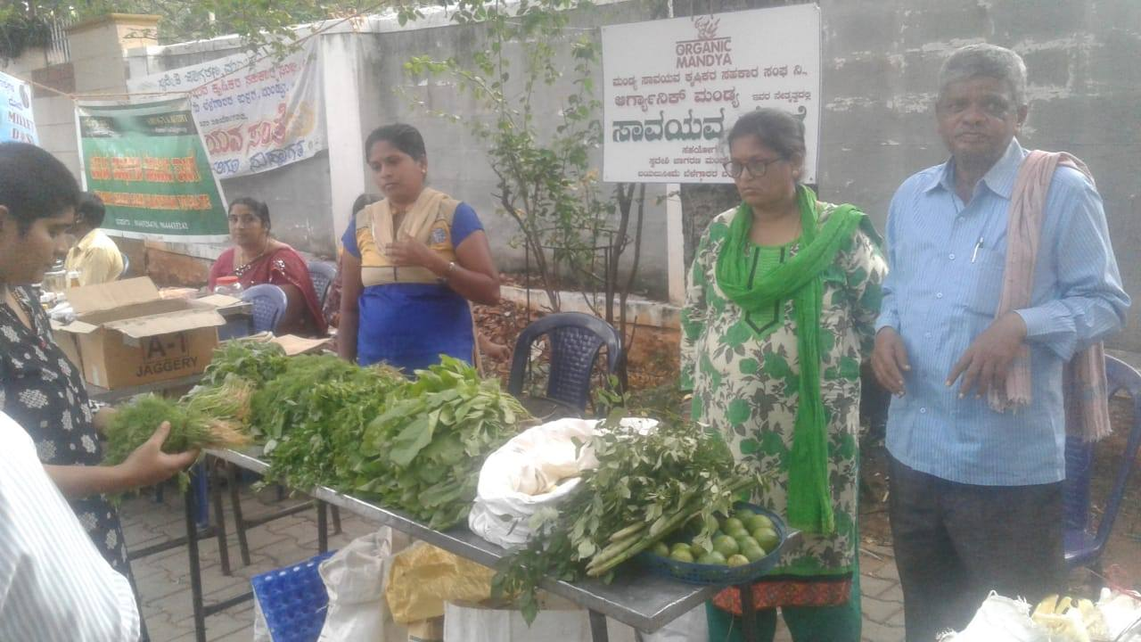 We Started Organic Farmers Fair at Mandya!