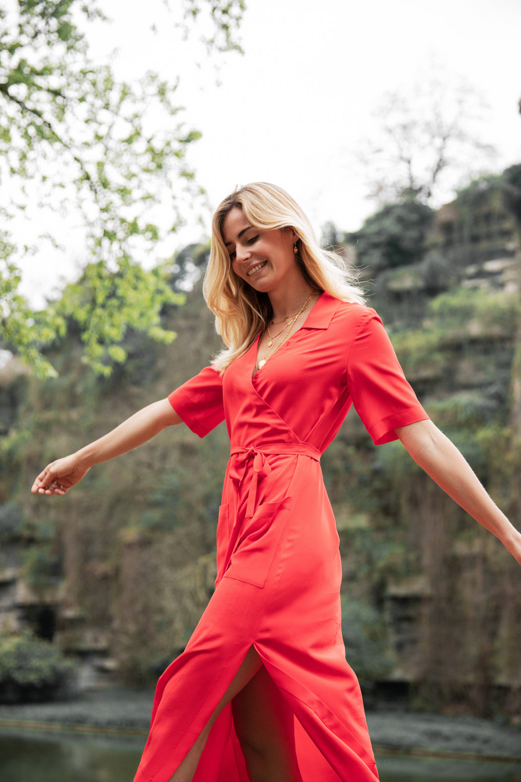 ROBE-CHEMISE BUTTES CHAUMONT