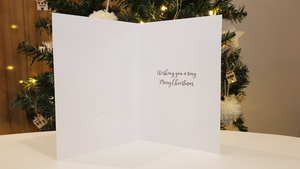 Scented Christmas card - Merry Christmas