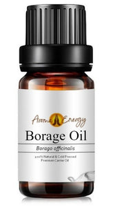 Borage Oil - Base/Carrier Oils, Pure & Natural - Aroma Energy